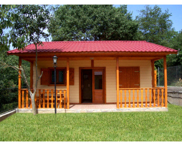 Modelo levi 40m2 casas de madera en tenerife - Casa madera economica ...