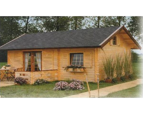 Modelo ania 44m2 casas de madera en tenerife - Casas prefabricadas tenerife precios ...